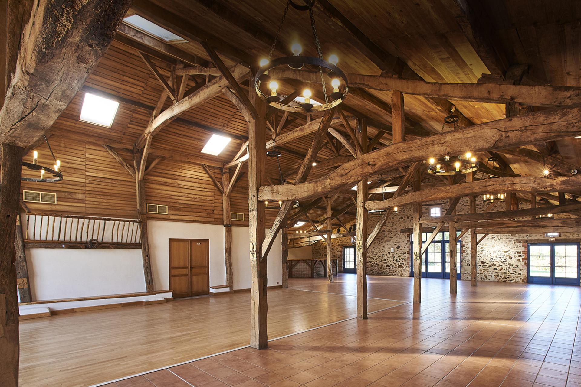 Logis La Gilbretiere Salle De Reception La Ferriere La